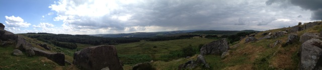 Longshaw from Duke's Seat