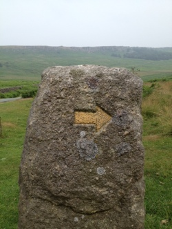 Stone waymarker