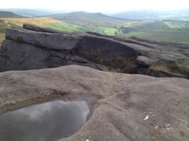 Owler Tor from Stanage