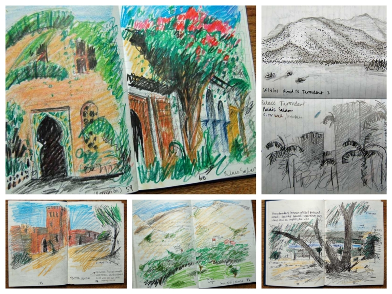 morocco field sketches