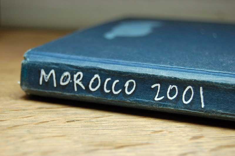 morocco field notebook