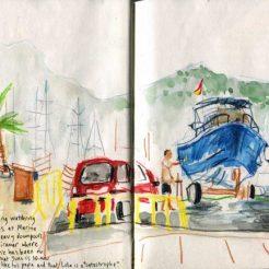 Serveis Nautics at the Marina