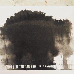October Trees, original art by Sian Hughes