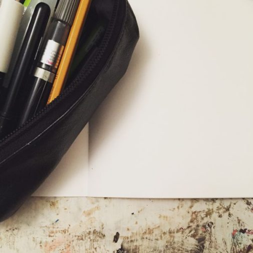Blank page and drawing tools