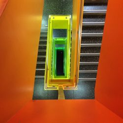 Sheffield Hallam University Stairwell