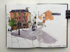 Sheffield Globe Inn Sketch