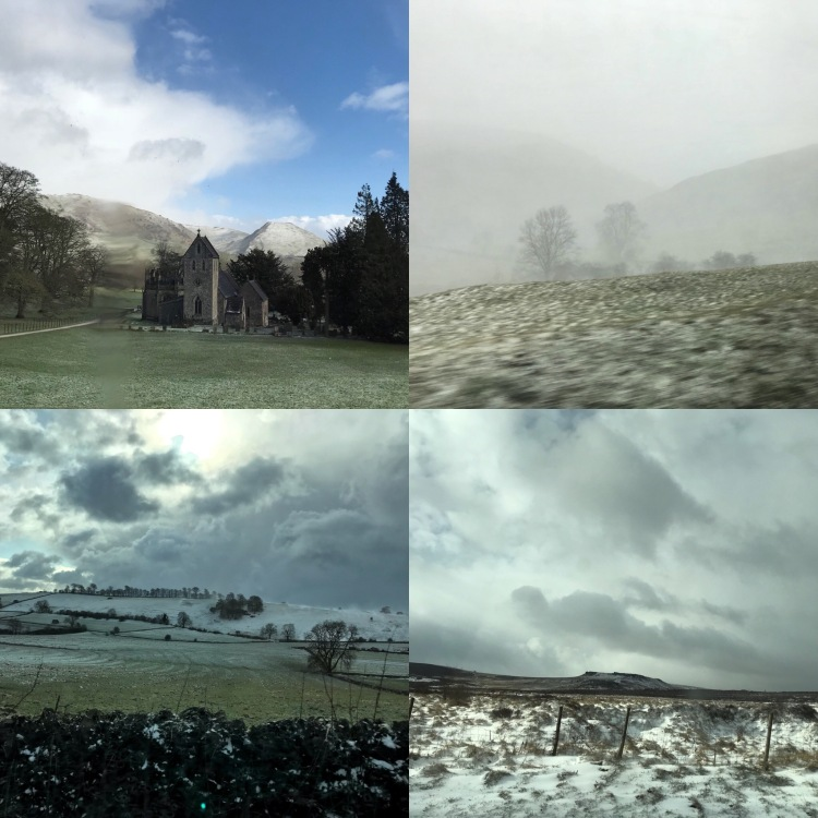 Winter moods, Ilam Hall, Peak District