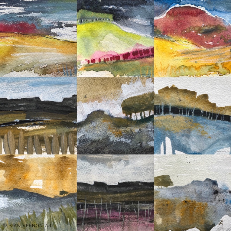 Peak District landscape paintings for sale