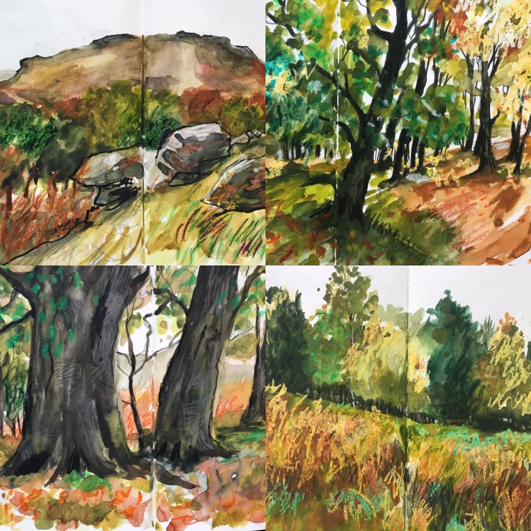 Longshaw sketches