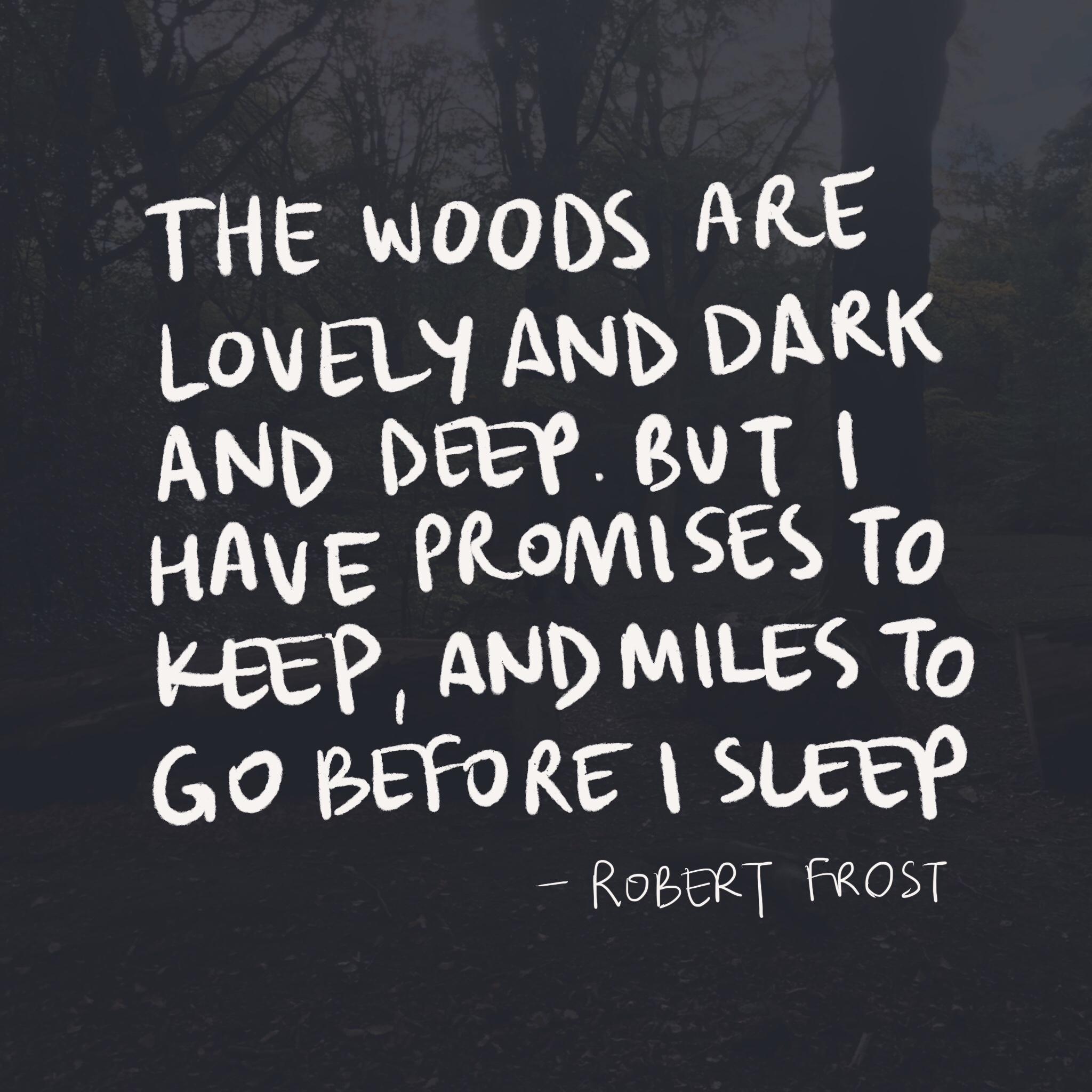 Robert Frost poem