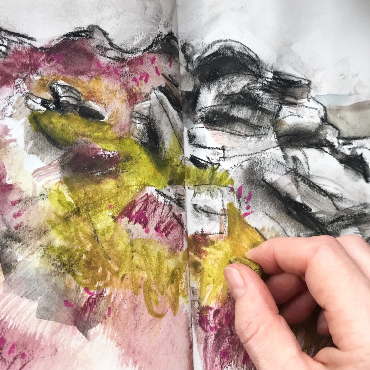 Sketching the Hurkling Stones