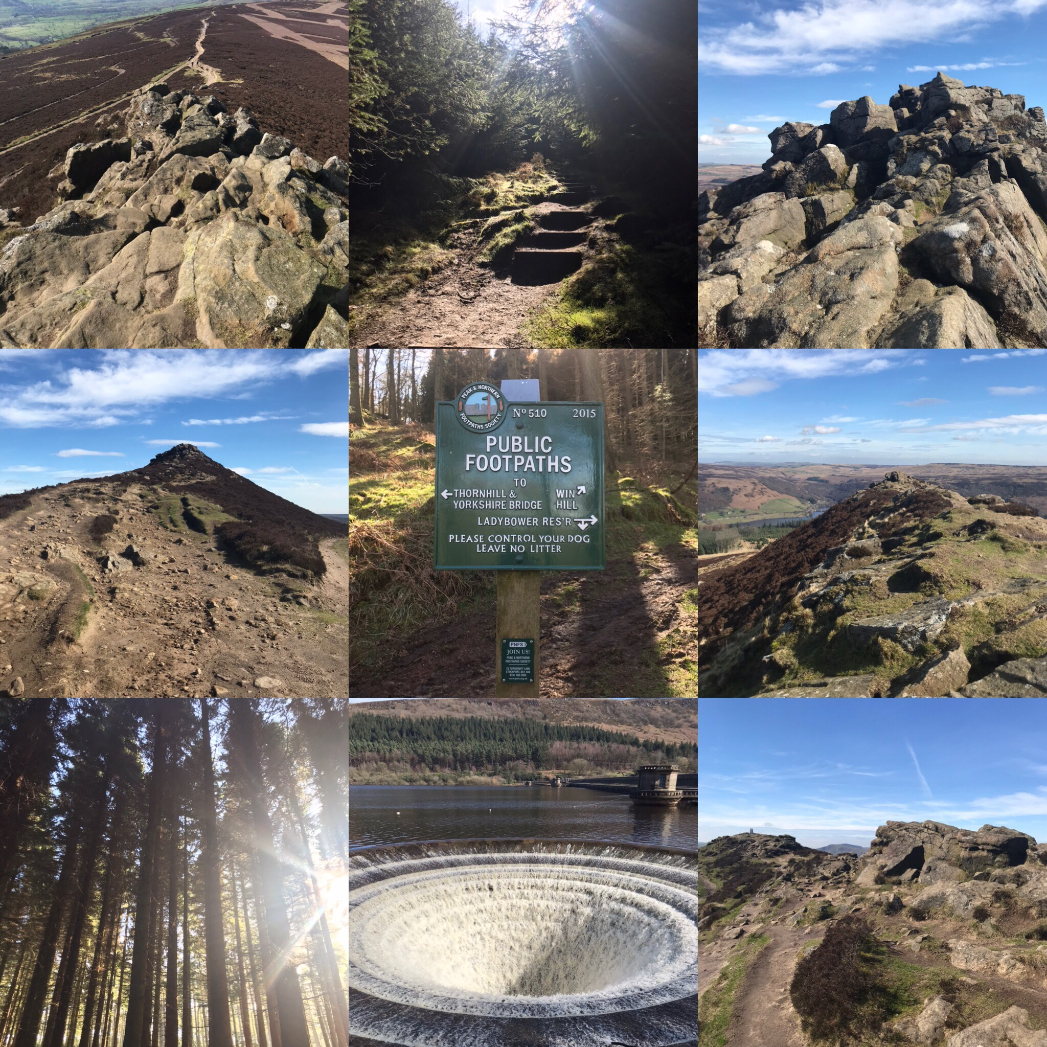 Photos from my Ladybower to Win Hill Peak District walk